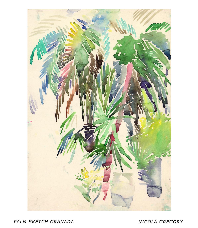 Palm Sketch Granada