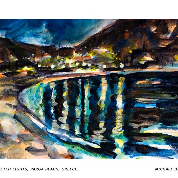 92_RA_MB_Reflected Lights, Parga Beach, Greece